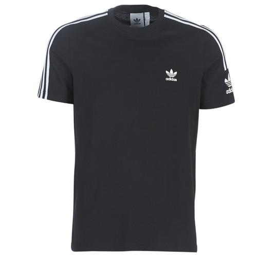 Vêtements Homme T-shirts manches courtes adidas Originals LOCK UP TEE Noir