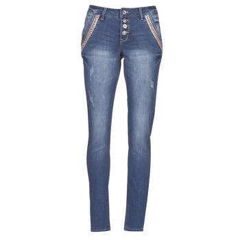 Vêtements Femme Jeans droit Cream DICTE Bleu
