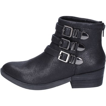 Chaussures Femme Bottines Francescomilano bottines textile noir