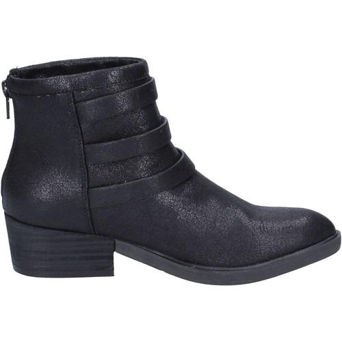 bottines textile Francescomilano bottines femme noir