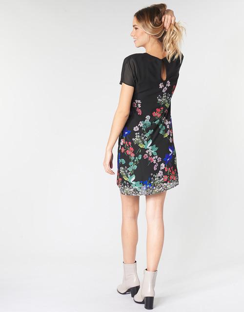 Desigual Loretha Multicolore - Livraison Gratuite- Vêtements Robes Courtes Femme 7996