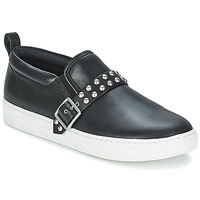 Chaussures Femme Slips on Marc by Marc Jacobs CUTE KICKS KENMARE Noir