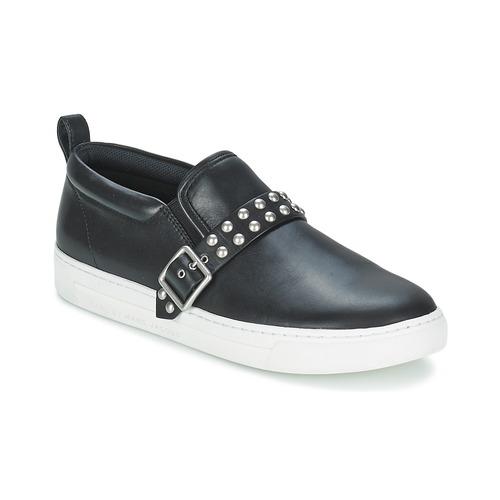 Chaussures Femme Slip ons Marc by Marc Jacobs CUTE KICKS KENMARE Noir