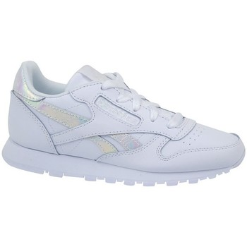 Chaussures Enfant Baskets basses Reebok Sport Classic Leather Blanc