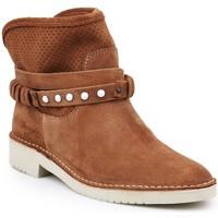 Chaussures Femme Bottines Wrangler Indy Hole Marron