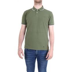 Vêtements Homme Polos manches courtes Woolrich WOPOL0522 polo homme Vert Vert