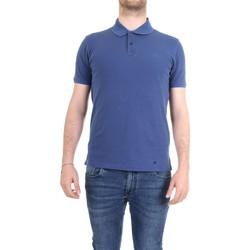 Vêtements Homme Polos manches courtes Woolrich WOPOL0526 polo homme bleu bleu