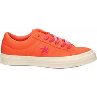 Chaussures Femme Baskets basses Converse ONE STAR OX TURF orange-strawberry-jam