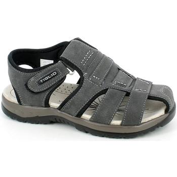 Chaussures Homme Sandales et Nu-pieds Tiglio 1852.28_41 Gris