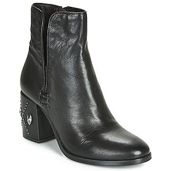 Chaussures Femme Bottines Mjus TWISTER METAL Noir