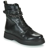 Chaussures Femme Boots Mjus TRIPLE STRAP Noir