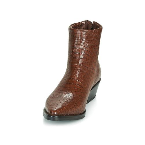 Calamity Femme Mjus Mjus Boots Femme Calamity Boots Marron WEQrCxodBe