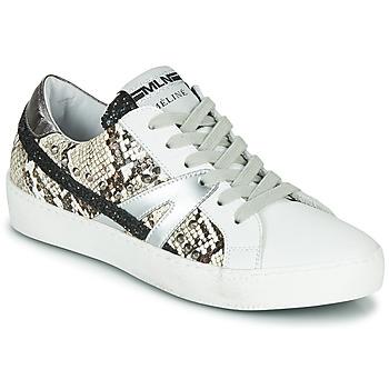 Chaussures Femme Baskets basses Meline  Blanc / Phyton