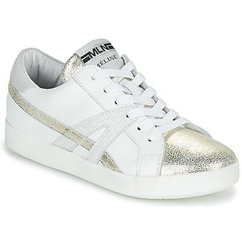 7fd3e487238b9 Chaussures Femme Baskets basses Meline Blanc