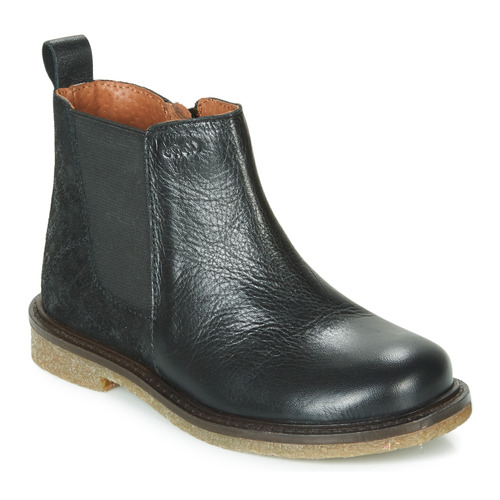 Chaussures Fille Boots Aster WAXOU Noir