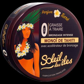 Beauté Femme Protections solaires Soleil Des Îles Graisse à traire - Parfum Tiaré - 150ml Transparent