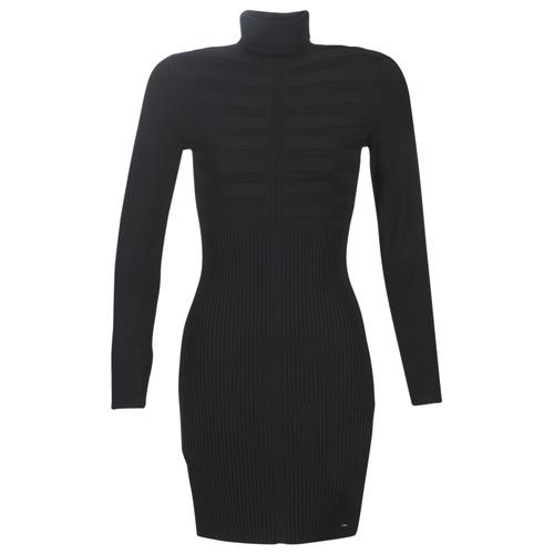 Morgan Rmento Noir Livraison Gratuite Spartoo Vetements Robes Courtes Femme 48 99