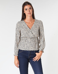 Vêtements Femme Tops / Blouses Betty London LOVA Beige / Noir