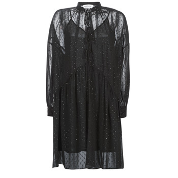 Vêtements Femme Robes courtes Replay W9525-000-83494-098 Noir