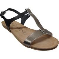 Chaussures Femme Sandales et Nu-pieds Amoa Sanary Noir cuir