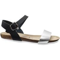 Chaussures Femme Sandales et Nu-pieds Amoa Hyeres Noir cuir
