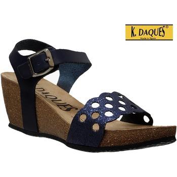 Chaussures Femme Sandales et Nu-pieds K. Daques Jina Marine