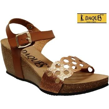 Chaussures Femme Sandales et Nu-pieds K. Daques Jina Marron