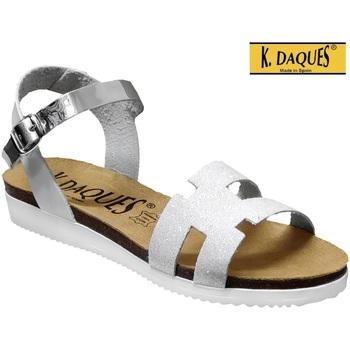 Chaussures Femme Sandales et Nu-pieds K. Daques Delta Blanc