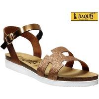 Chaussures Femme Sandales et Nu-pieds K. Daques Delta Marron
