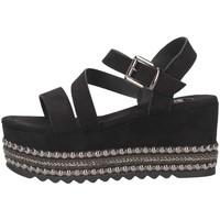 Chaussures Femme Sandales et Nu-pieds Exé Shoes MACAU-736 BLACK Noir