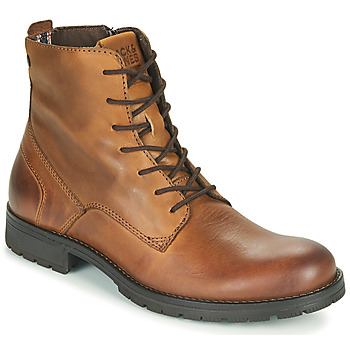 Chaussures Homme Boots Jack & Jones JFW ORCA LEATHER Cognac