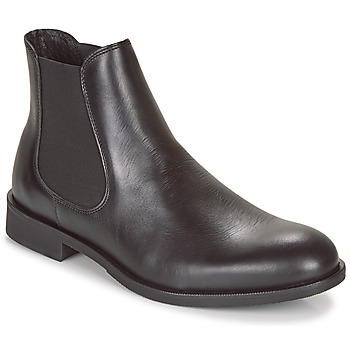 Chaussures Homme Boots Selected LOUIS LEATHER CHELSEA Noir