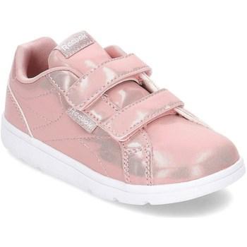 Chaussures Fille Baskets basses Reebok Sport Reevok Classic Blanc,Rose