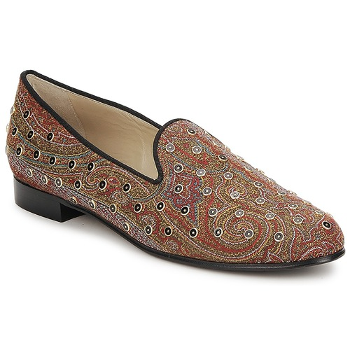 Chaussures Femme Mocassins Etro BORCHIE Marron