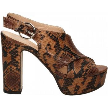 Chaussures Femme Escarpins Les Venues LINDY diamant-cognac