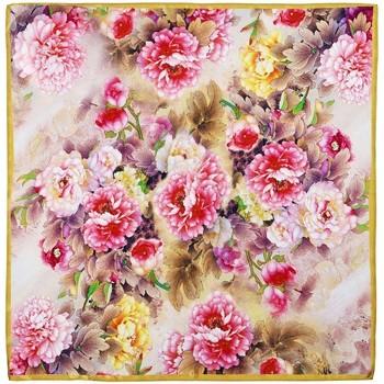 Accessoires textile Femme Echarpes / Etoles / Foulards Allée Du Foulard Carré de soie Piccolo Valoa multicolore