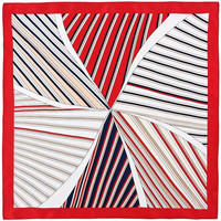 Accessoires textile Femme Echarpes / Etoles / Foulards Allée Du Foulard Carré de soie Piccolo Iota - 50x50 cm rouge