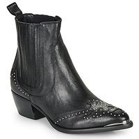 Chaussures Femme Bottines Ikks BP80075-03 Noir