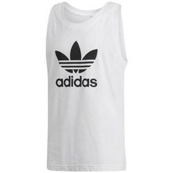 Vêtements Homme Débardeurs / T-shirts sans manche adidas Originals Trefoil Tank Blanc