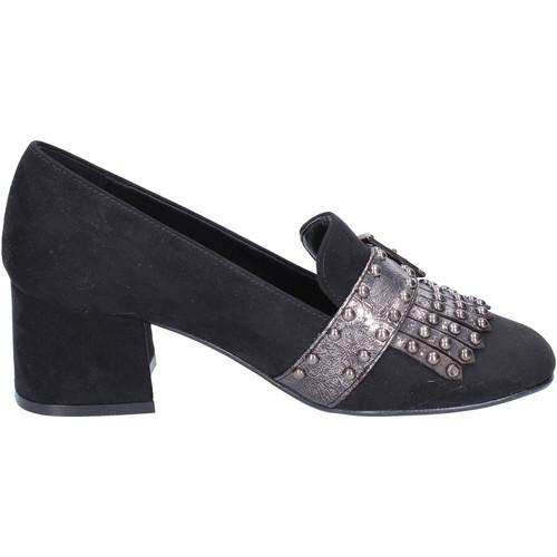 Chaussures Femme Mocassins Nacree mocassins daim synthétique noir