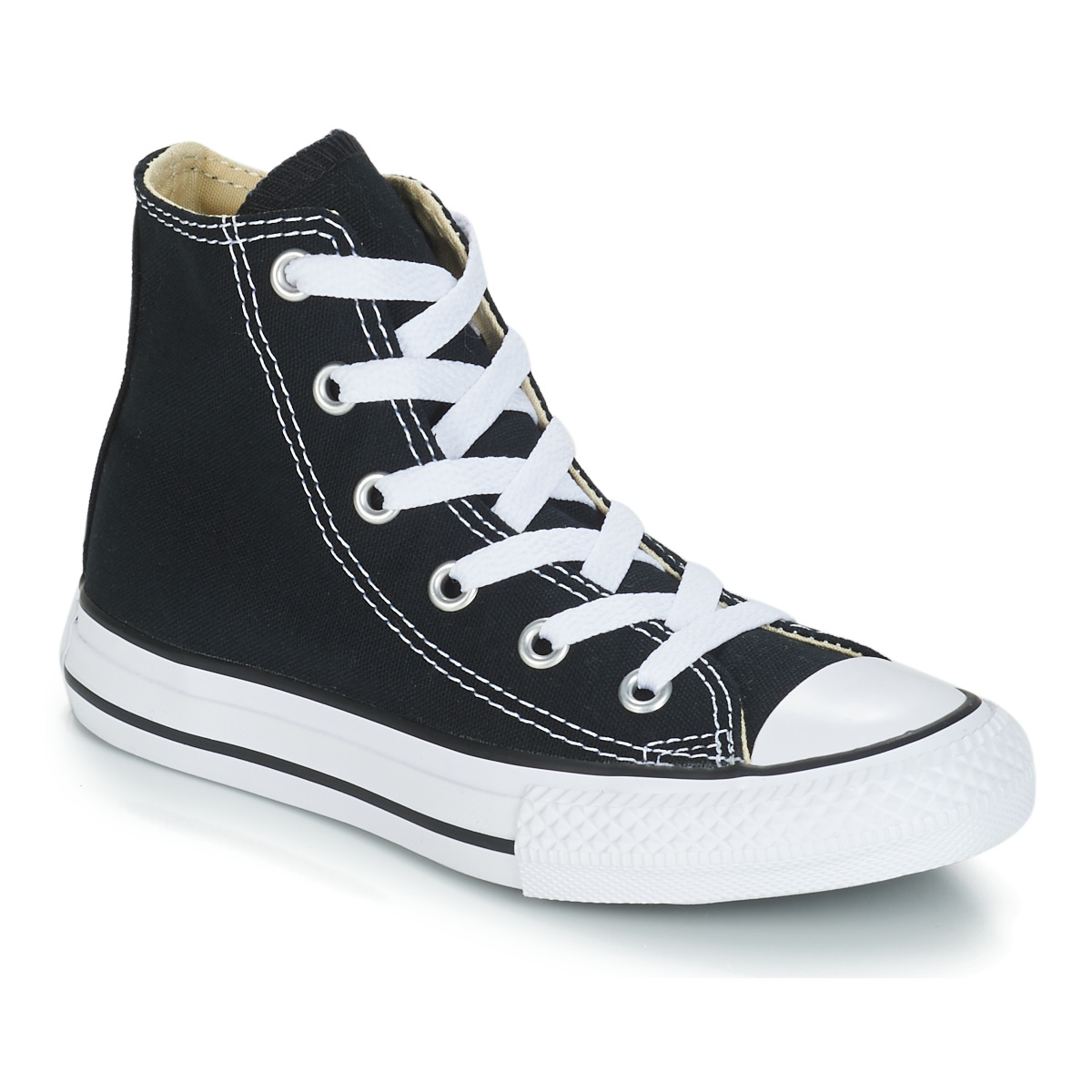 959ec36e3bde6 Chaussures Enfant Baskets montantes Converse CHUCK TAYLOR ALL STAR CORE HI  Noir