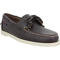 Chaussures Homme Chaussures bateau Sebago Docksides Portland cuir Homme Marron Marron