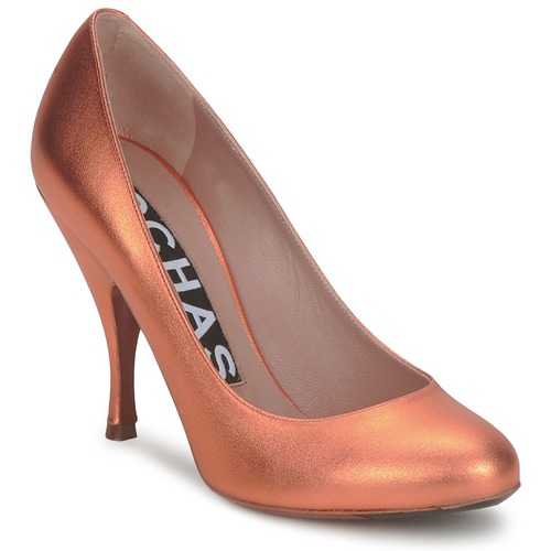 Chaussures Femme Escarpins Rochas RO18061-90 METALLIC-ORANGE