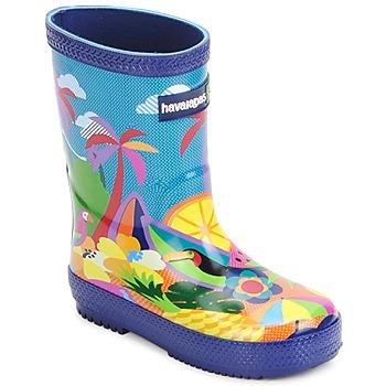Chaussures Enfant Bottes de pluie Havaianas RAIN BOOTS Multicolore