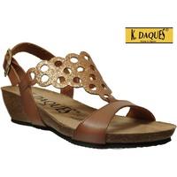 Chaussures Femme Sandales et Nu-pieds K. Daques Elo Marron