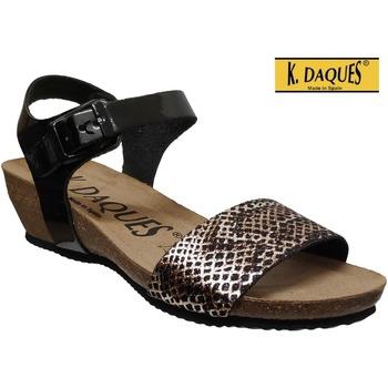 Chaussures Femme Sandales et Nu-pieds K. Daques Estan Noir