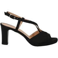 Chaussures Femme Sandales et Nu-pieds Soffice Sogno E9394 NOIR