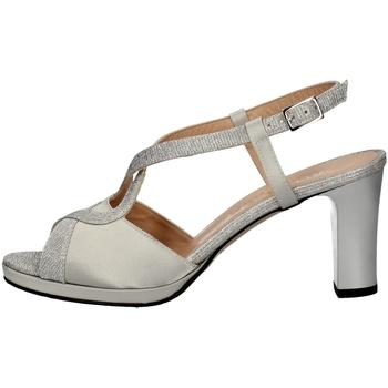 Chaussures Femme Sandales et Nu-pieds Soffice Sogno E9394 ARGENT