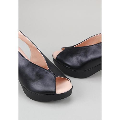 Sandra Femme pieds Tami Fontan Chaussures Sandales Et Noir Nu kXZuPiO