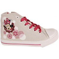 Chaussures Fille Baskets montantes Disney Minnie Mouse DM000723 Gris